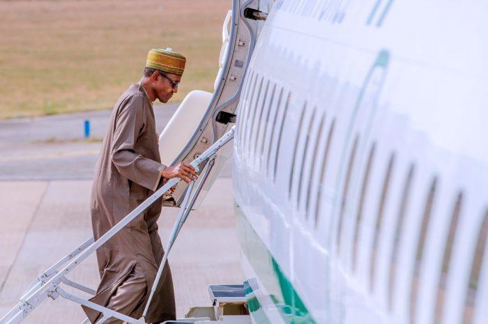 Buhari-depart
