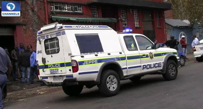 South-Africa-police VAN