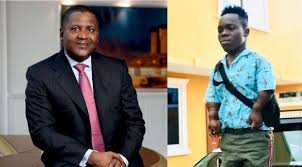 DANGOTE AND GHANAIAN DWARF