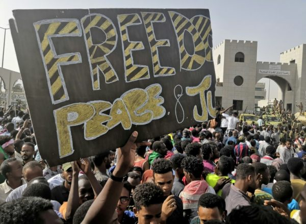 Sudanese-protesters-want freedom from military rule.jpg