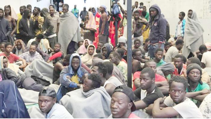 Libya-Slave-Camps