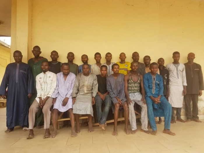 All-the-18-suspects-arrested-by-the-police-under-Operation-Puff-Adder.jpg