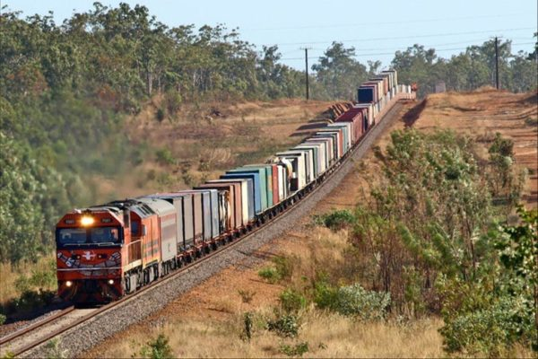 Rail-with-containers