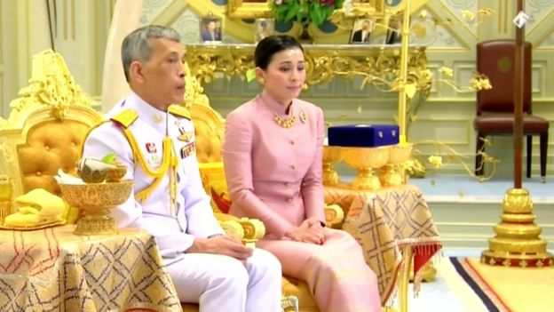 KING AND QUEEN OF THAI